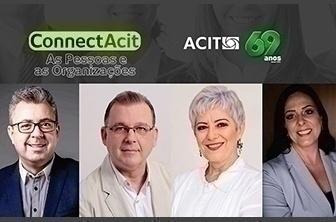 Pessoas e organizações serão tema do Connect ACIT de julho